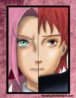 Sakura VS Sasori by Votaris