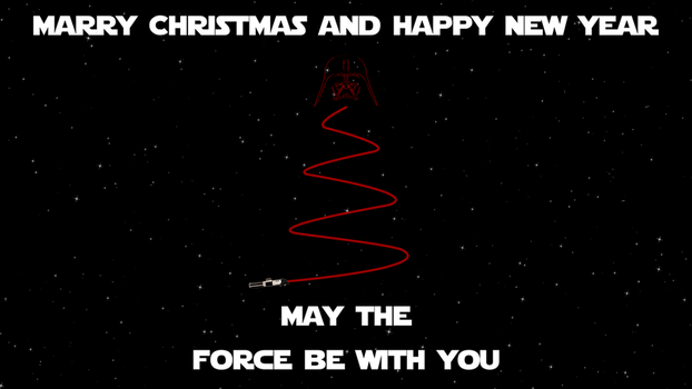 MARRY XMAS AND HAPPY NEW YEAR Star Wars edition by pavelstrobl
