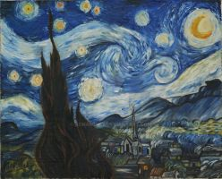 The Starry Night by schairiney