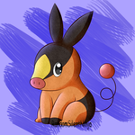 Gen 5 Collab - Tepig by RandomSilentNinja
