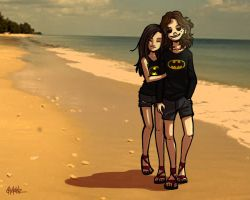 Summer Paradise With You by ChickenzPunk
