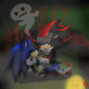 Sonadow Halloween Contest 2013 by Gina1991