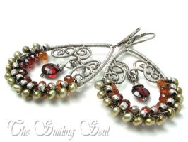 Alexandra Earrings by smilingsoul