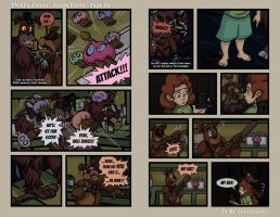 FNAF4 Comic - House Party - Page 63 - 4-12-17 by Mattartist25