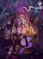 Youkai party: thanks for 100K by liea