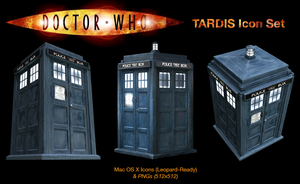 TARDIS Icon Set by sveiki
