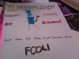 Excalibur Anti-Alcohol Poster by sonicrocker