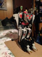 Shadow Force Megazord Mode Red Figure by SuperVegeta71290