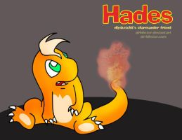 Hades the Charmander by airlobster