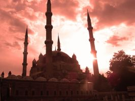 Selimiye Mosque by Erymnys