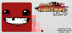 Super Meat Boy Icon 2 by TheInfamousTheft
