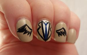 Castiel Nails by AStudyInPolish