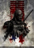 snake eyes gi joe by johngiang