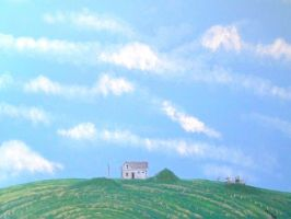 A Haunting in Palouse by TomOliverArt