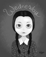 Wednesday Addams by Mikan98