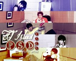 FT Island #2 PSD PACK by channijang