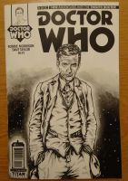 Twelfth Doctor Front by PAULSWAIN