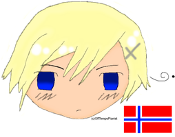 Chibi Norway by OffTempoPianist
