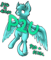 P2U Gryphon base by Ivon-adopts