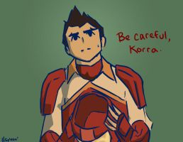 Be careful, Korra by love-your-spleen