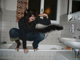 I Told You...I Hate Water by WereKatt