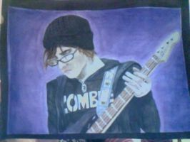 Mikey Way Portrait. Finished. by NightShadeTears94