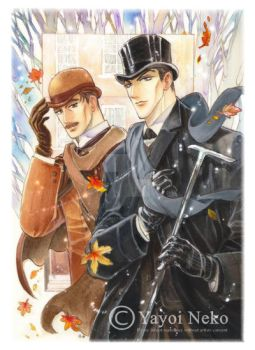 Holmes comic cover by Thundertori