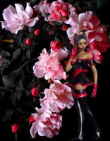 Gothic Rose Maiden by VisualPoetress