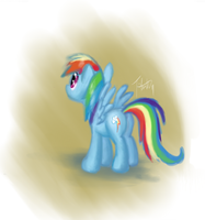 Rainbowdash by fabman132