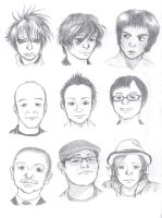 Asian (male) Faces Test by ShenaniBOOM