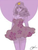 Lumpy space princess by ophilino