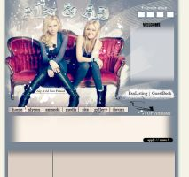 Lay Aly and AJ v.02 by andzia89