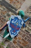 Link Cosplay by awesome-Kathi