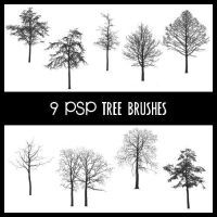Tree Brushes PSP by zememz