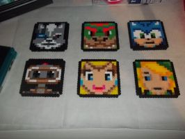 Brawl Perlers Set 2 by Libbyseay