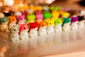 Rainbow Hamster Army Redux by WriteLighting
