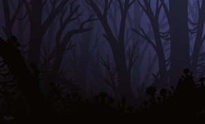 Eerie Forest by Stygma