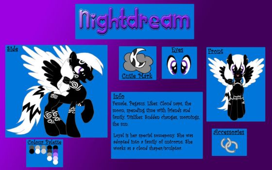 COMMISSION Nightdream by chibihitomi