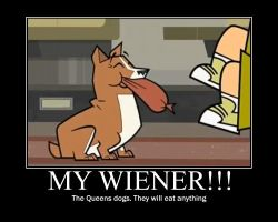 Total Drama Wiener by AbominationOfTime