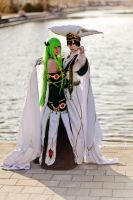 Code Geass Cosplay - Protect the Empress by diriagoly