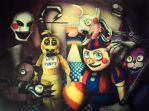 Five Nights at Freddys 2 by Kentcharm