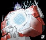 Damaged Optimus Prime by rattrap587