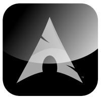 Arch Linux Logo by unlimitdaydream