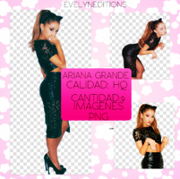 Pack png de Ariana Grande by Evelyn101Ariana