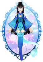 Meifen in Return of Lotus Outfit R73 (SOLD) by RumCandyAdopt