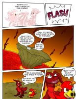 Flare and Fire: Good and Evil Pg 4 by oogaboogaz