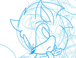 Scourge lockdown Sonic by MagalorSSDestiny16O