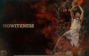 Dirk Nowitzki Nowitzness Wallpaper by Angelmaker666
