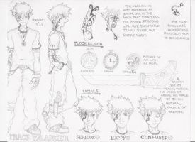 New Character Design 3rd by bestsketch
