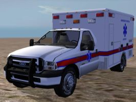 Ford F450 Ambulance by TimB-MBM